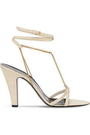 Saint Laurent 95mm Sue Ayers Sandals