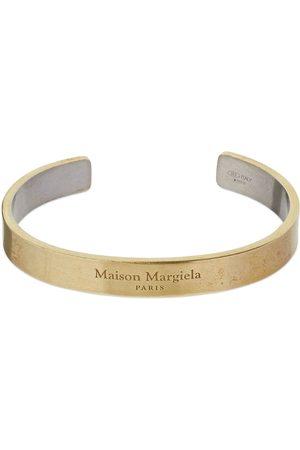 Maison Margiela Women Bracelets - Two Tone Cuff Bracelet