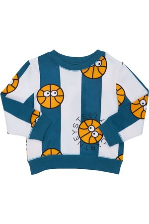 Stella McCartney Boys Sweatshirts - Printed Organic Cotton Sweatshirt