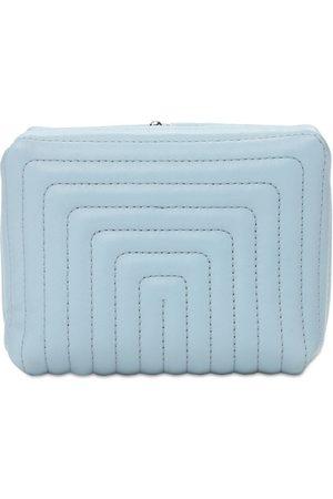Jil Sander Women Clutches - Goji Mini Soft Quilted Leather Clutch