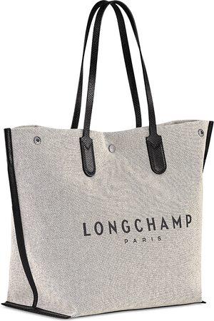 Longchamp Essential Toile Large Canvas Tote