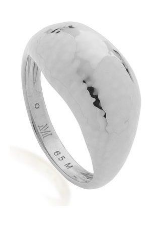 Monica Vinader Women Rings - Sterling Silver Deia Domed Ring
