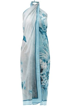 F.R.S For Restless Sleepers Jungle-print Cotton-muslin Sarong - Womens - Print