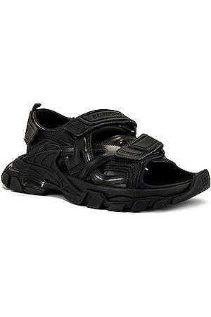 Balenciaga Track Strap Sandal in