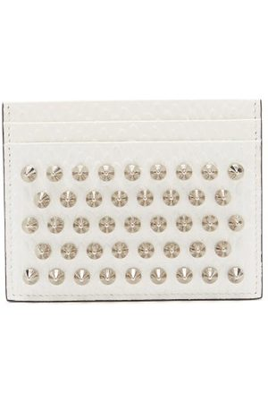 Christian Louboutin Kios Studded Leather Cardholder - Womens - Multi
