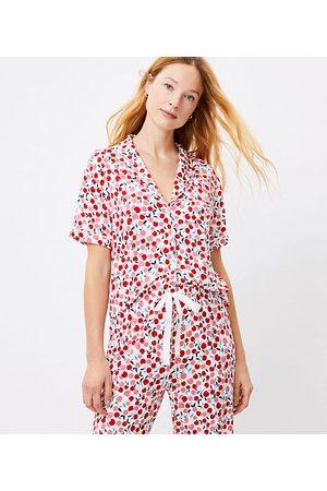 LOFT Women Pajamas - Cherry Pajama Top