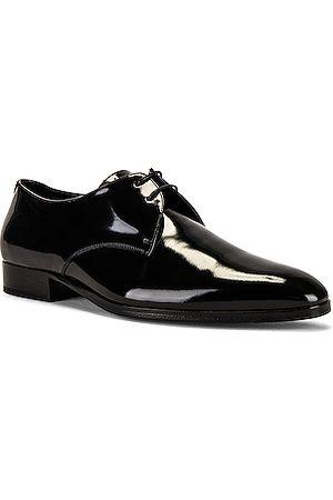 Saint Laurent Men Formal Shoes - Wyatt Lace Up Derby in