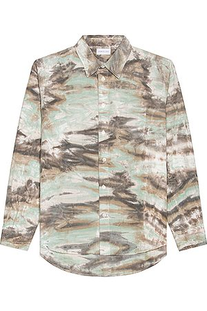 JOHN ELLIOTT Men Long sleeves - Corpus Button Down in Mint