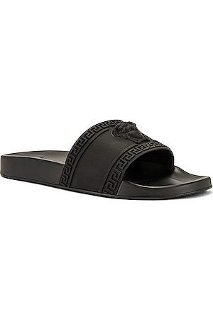 VERSACE Men Sandals - Slide Sandals in