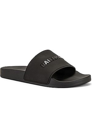 Balenciaga Men Sandals - Pool Slide in