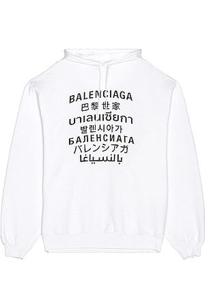 Balenciaga Men Hoodies - Bomber Hoodie in