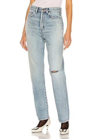 Saint Laurent Slim Fit Jean in Denim-Light