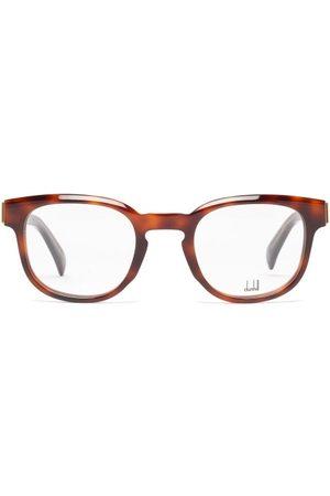 Dunhill Round Acetate Glasses - Mens - Tortoiseshell