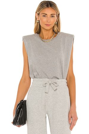 AllSaints Coni Tank in Grey.
