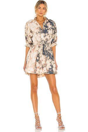 SWF X REVOLVE Mini Collar Dress in Black.