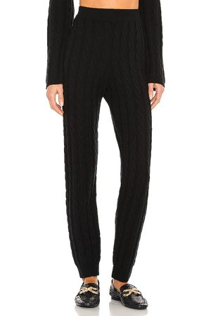 LPA Cashmere Cable Knit Easy Pant in .