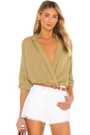 YFB CLOTHING Soho Top in Army.