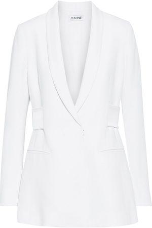 CUSHNIE Women Blazers - Woman Silk Satin-trimmed Cady Blazer Size 2