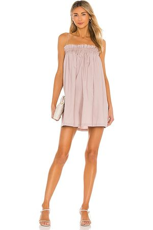 L'Academie The Arcello Mini Dress in Mauve.
