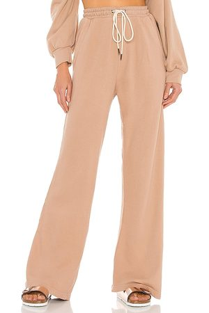 Citizens of Humanity Women Wide Leg Pants - Nia Wide Leg Lounge Pant in Nude.