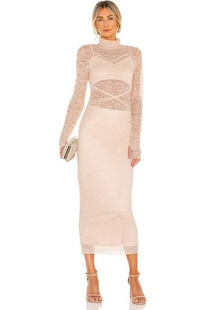 AFRM Lizzo Dress in Blush.