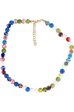 petit moments Beaded Necklace in Blue.