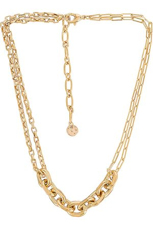 petit moments Brooks Necklace in Metallic .