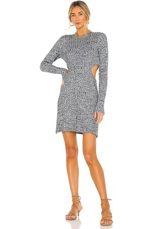 AFRM Dove Dress in Charcoal.