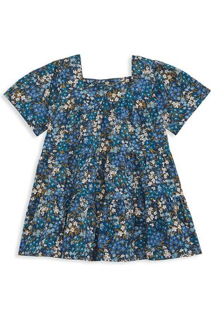SEA Girls Printed Dresses - Little Girl's & Girl's Lissa Liberty Floral Short-Sleeve A-Line Dress - - Size 5