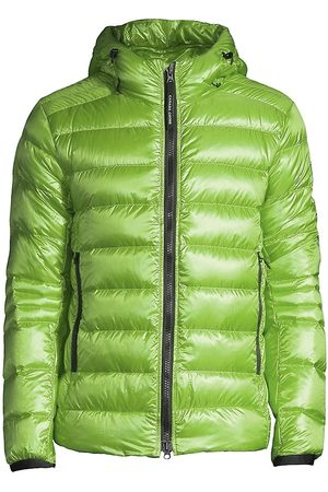 Canada Goose Men's Crofton Hooded Puffer Jacket - Aster - Size Large