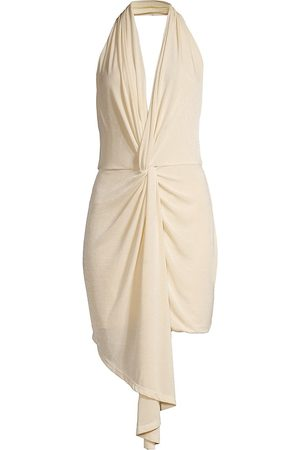 Significant Other Women's Moon Light Twist Dress - Pearl - Size 4