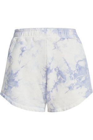 Jonathan Simkhai Standard Women's Evie Organic Terry Shorts - Sky Tie Dye - Size Small