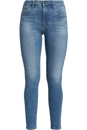AG Jeans Women's Farrah High-Rise Ankle Skinny Jeans - Vista - Size 30
