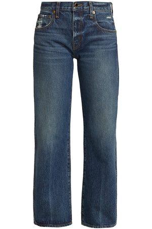 Khaite Women's Kerrie Straight-Leg Jeans - Lincoln - Size 28