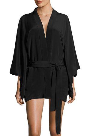 FLEUR DU MAL Women's Haori Kimono - Blush - Size Medium
