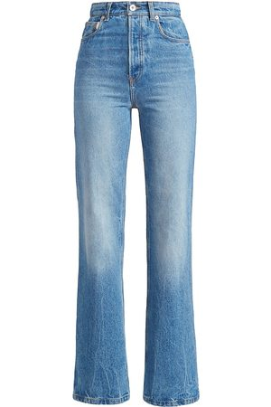 Paco rabanne Women's Bootcut Jeans - Denim Stone - Size 10