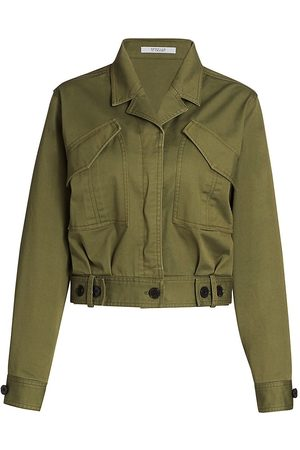 Derek Lam Women's Gwen Field Jacket - Fatigue - Size 00