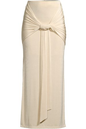 Significant Other Women's Jaffa Knot Skirt - Pearl - Size 2
