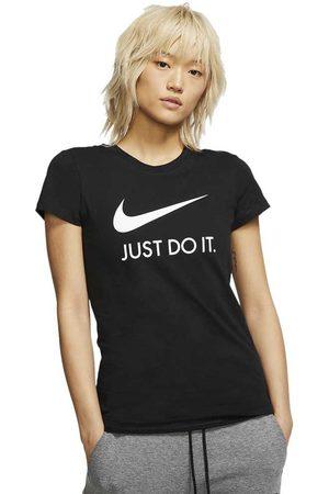Nike Women T-shirts - Sportswear Just Do It Slim M / White
