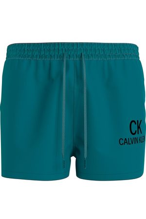 Calvin Klein Short Drawstring L Seans Teal