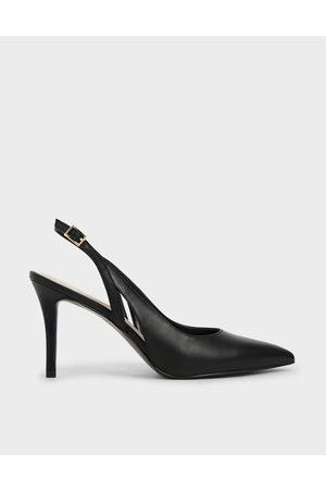 adidas Women Heels - Cut-Out Slingback Pumps
