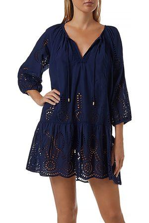 adidas Women Beachwear - Ashley Eyelet Cover-Up Dress