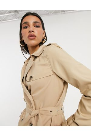 VILA Trench coat in -Neutral