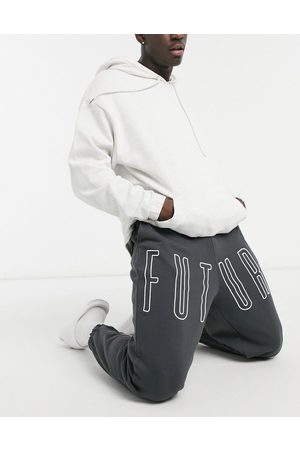 adidas Oversized sweatpants in with embroidered logo - part of a set