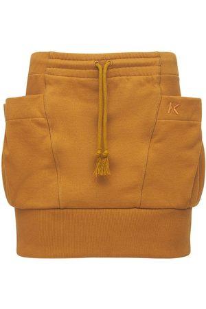 Kenzo Organic Cotton Jersey Mini Skirt