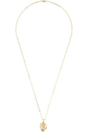 adidas Lions Head oblong-chain necklace