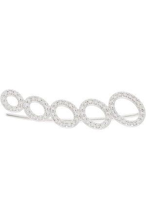 ALINKA 18kt white gold CLOUD diamond right ear cuff