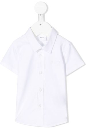 HUGO BOSS Short sleeves - Buttoned short-sleeve shirt