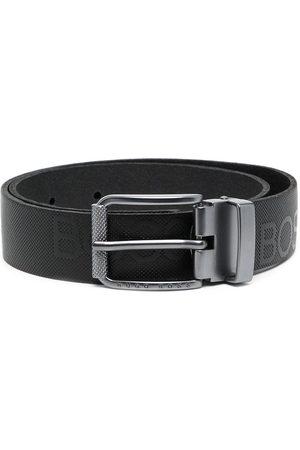 HUGO BOSS Embossed logo belt
