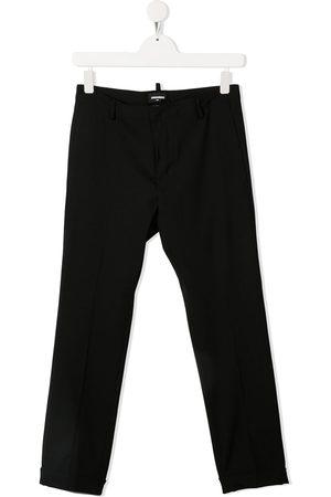 Dsquared2 Kids TEEN slim-leg wool trousers